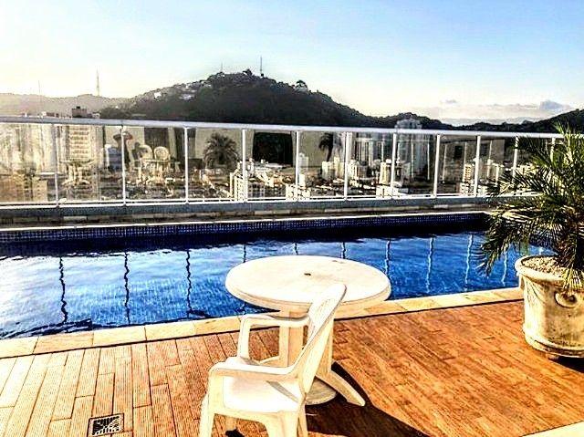 Apartamento à venda com 2 dormitórios em Pompéia, Santos cod:212703
