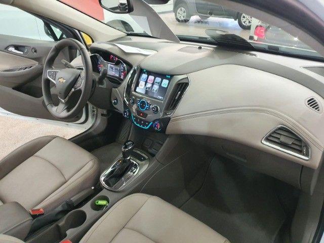 gm/cruze sedan ltz 1.4 turbo,ano 2018,u.dono,top de linha,branco,impecavel, sem detalhes - Foto 20