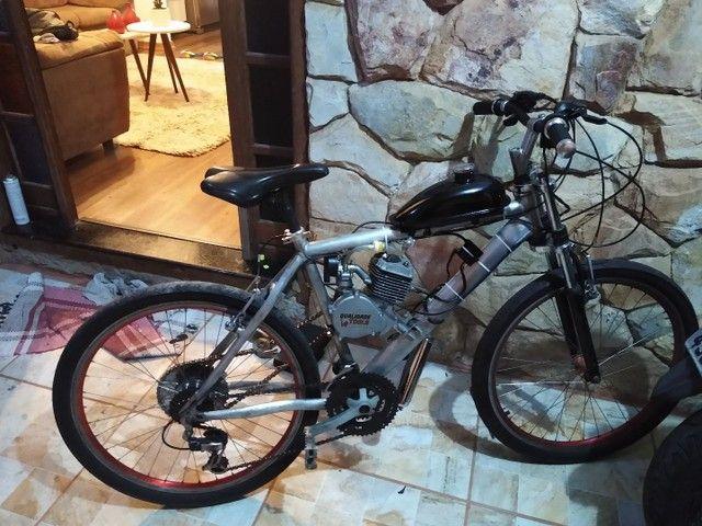 Bicicleta motorizada 80cc nova