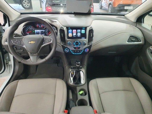 gm/cruze sedan ltz 1.4 turbo,ano 2018,u.dono,top de linha,branco,impecavel, sem detalhes - Foto 10