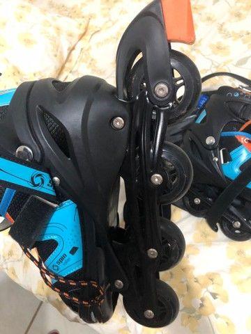 Patins Spin Roller - Foto 4