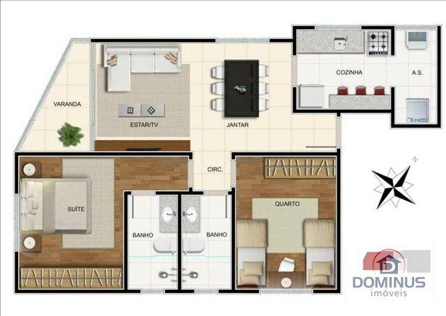 Apartamento Residencial à venda, Funcionários, Belo Horizonte - . - Foto 6