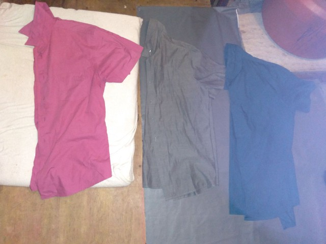 Lote de camisa de manga curta 25,00 - Foto 5
