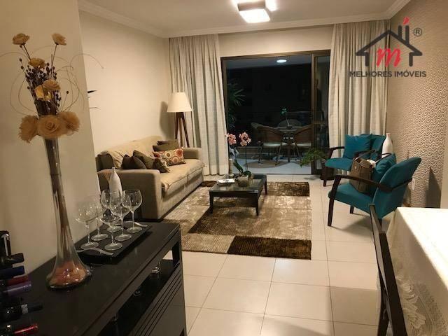 Apartamento 145m 3 vagas à venda no Residencial CARPE DIEM - Alphaville I, oportunidade ú