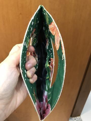 Bolsa de Mão de Chita - Foto 3