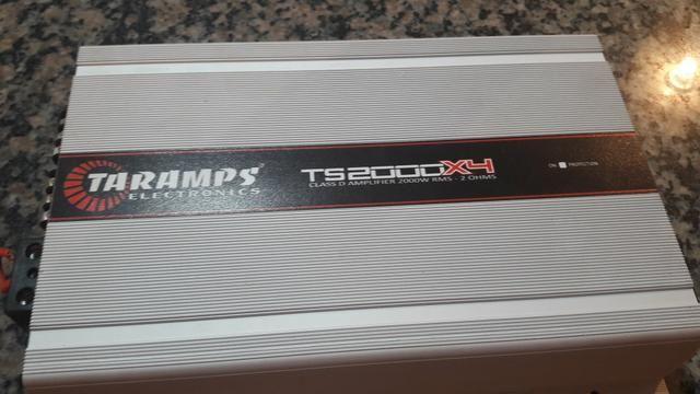 Potência Automotiva TARAMPS TS 2000 X4 2ohms. 4 canais