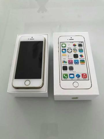 IPhone 5s 32gb dourado 32gb lindo