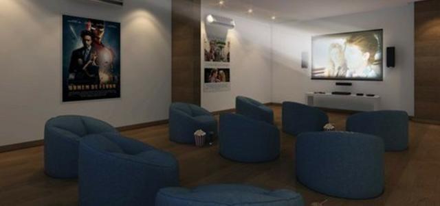 Prontíssimo, 2 quartos com suite e varanda gourmet, 63,26m² no coração do Sta. Lúcia