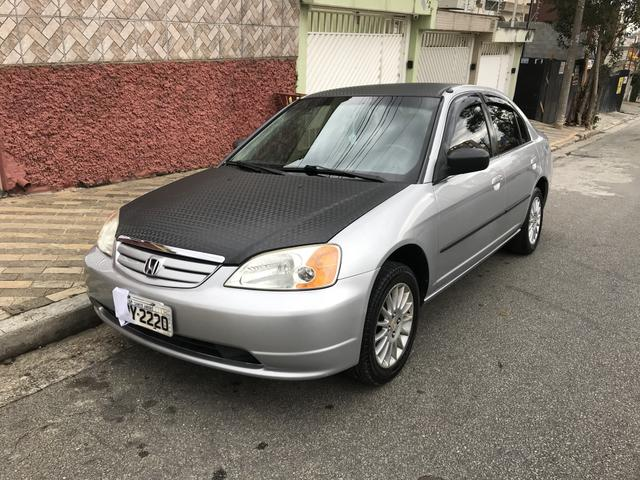 Wonderful Honda Civic LX 1.7 2001 Automático