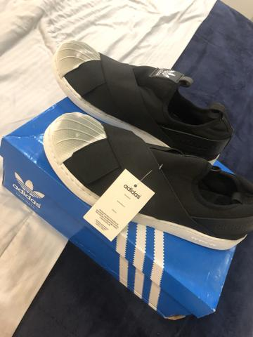 39f7120a9de Tênis adidas superstars slip original novo - Roupas e calçados ...