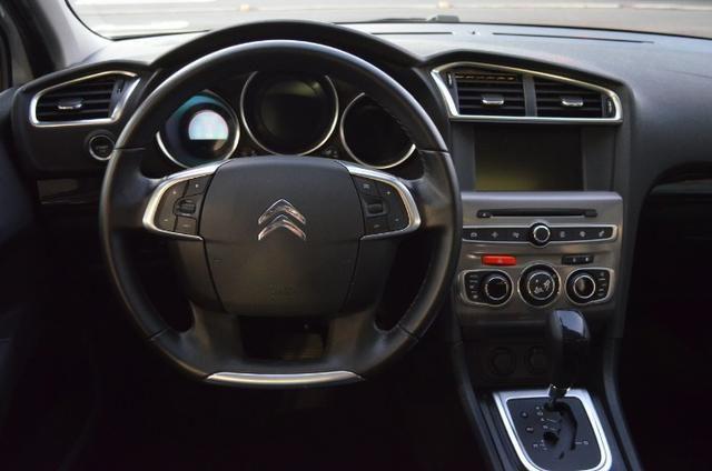 C4 lounge 1.6 turbo flex 4p automático *top de linha*único dono*imecável - Foto 12