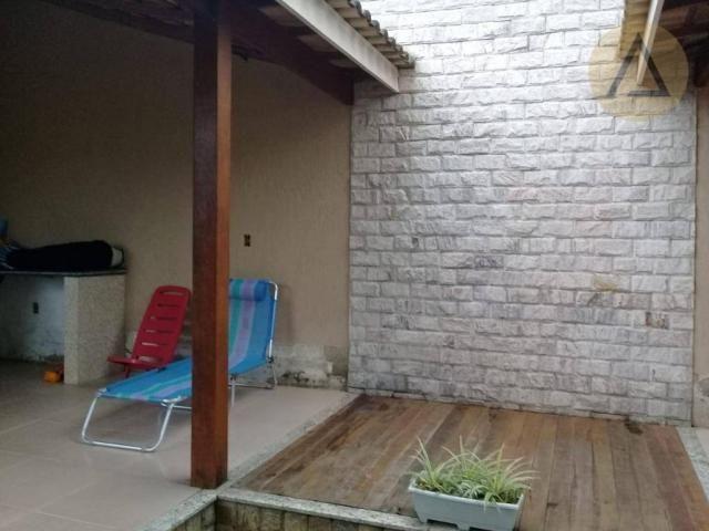 Atlântica imóveis tem excelente casa para venda no bairro Extensão Serramar em Rio das Ost - Foto 18