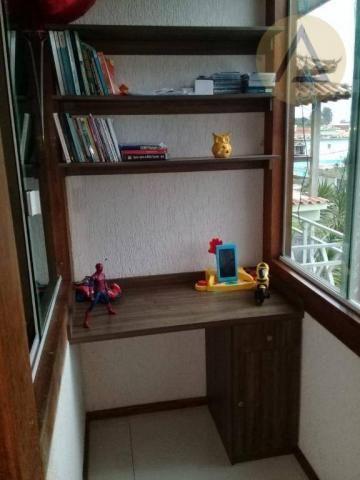 Atlântica imóveis tem excelente casa para venda no bairro Extensão Serramar em Rio das Ost - Foto 8