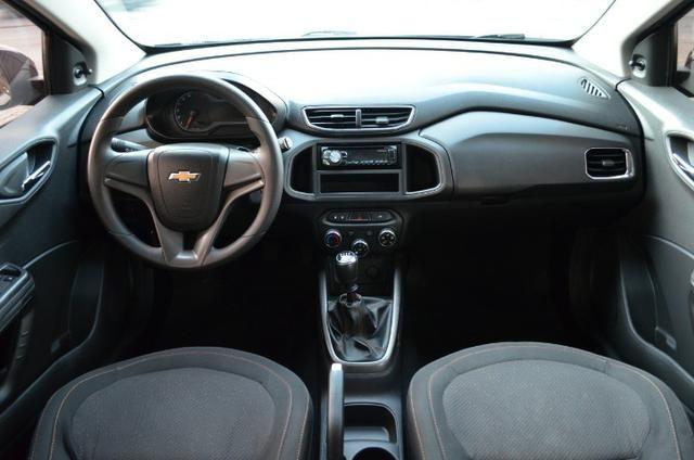 Gm - Chevrolet Onix 1.0 lt flex manual *único dono * 58.000 km - Foto 3