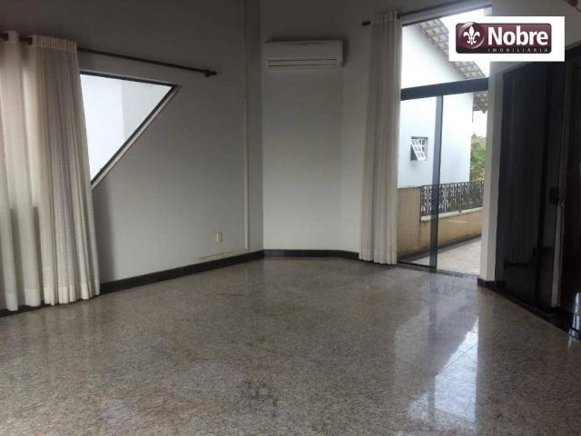 Sobrado com 4 dormitórios para alugar, 289 m² por r$ 3.520/mês - plano diretor sul - palma - Foto 5