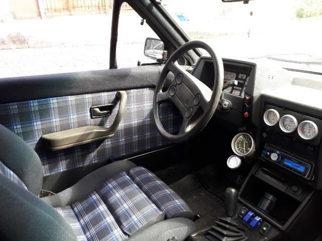 Volkswagen Saveiro GL 1.8 Turbo recaro bbs 17 manual chave reserva legalizada doc 19 - Foto 2
