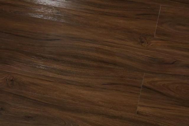 Piso Vinilico J.E. Floor Sistema Clicado Marrom Escuro Espessura 6mm - Foto 4