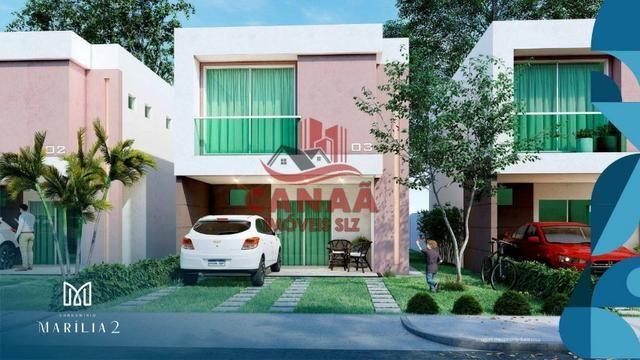 O Sonho do Novo Lar | Casas Duplex c/ 3 qtos | Acabamento no Porcelanato