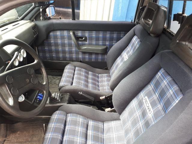 Volkswagen Saveiro GL 1.8 Turbo recaro bbs 17 manual chave reserva legalizada doc 19 - Foto 8