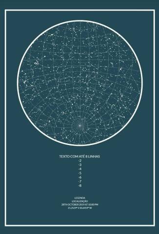 Mapa do céu - Foto 3