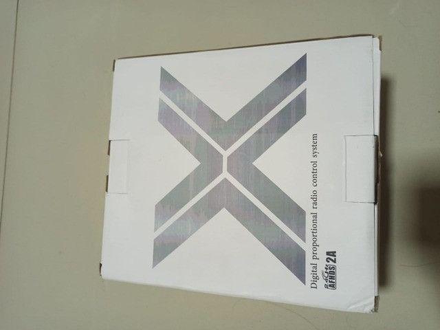 Radio FlySky 10 FS-i6x 10 Canais + Receptor ia10b - Foto 3
