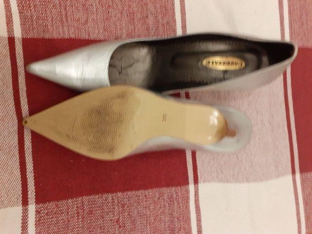 Sapato social cavazzale cor prata semi -novo - Foto 3