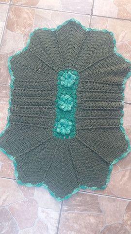 Lindos tapetes de Crochê, modelos diversos. - Foto 2