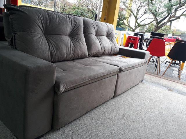 Sofá retrátil e reclinável lindo - Móveis - Parque ...