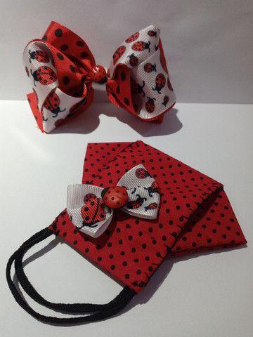 Kit laço e  máscara - Foto 6