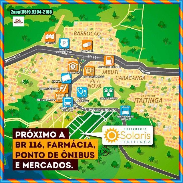 Loteamento Solaris em Itaitinga :::Venha investir já :: - Foto 13