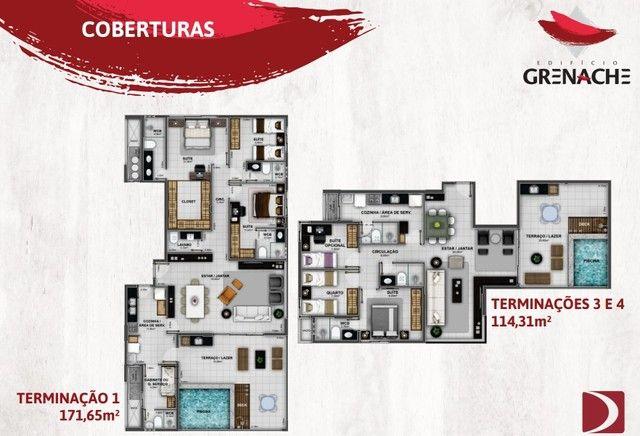 Lançamento na Jatiúca - EDF Grenache - 3/4 sendo um suite - Financiamento direto com a con - Foto 11