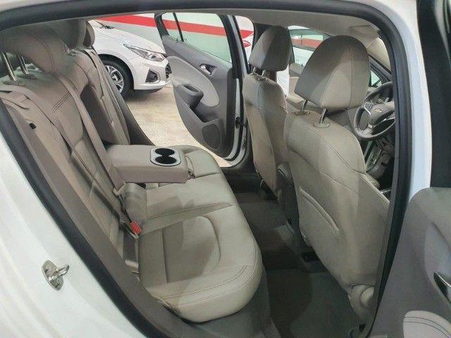 gm/cruze sedan ltz 1.4 turbo,ano 2018,u.dono,top de linha,branco,impecavel, sem detalhes - Foto 19
