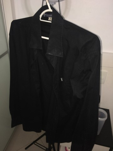DUDALINA - Camisa polo preta - Foto 3
