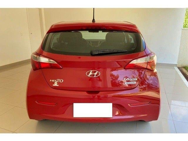 Hyundai HB20 1.6 comfort plus vermelho 16v flex 4p aut. - Foto 3