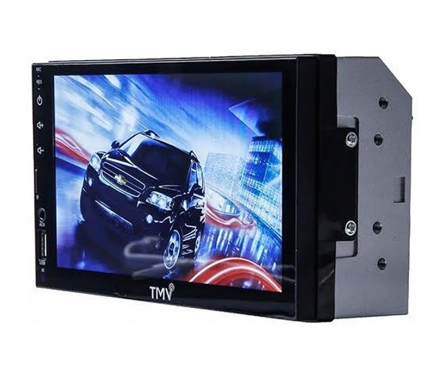 Central multimídia universal espelhamento celular touch screen LCD 7 polegadas - TMV - Foto 3