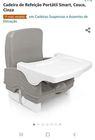 Cadeira de alimentação nova