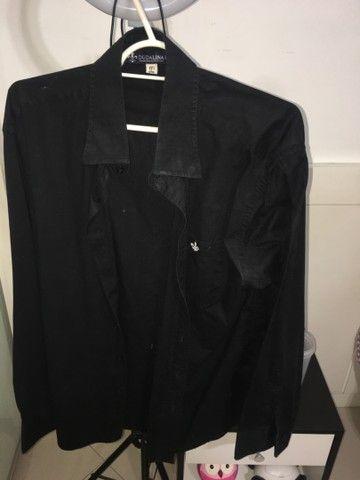 DUDALINA - Camisa polo preta