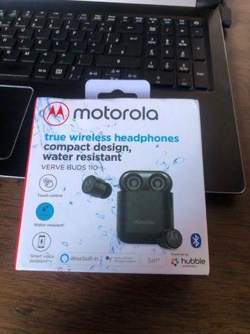 Fone de ouvido bluetooth Motorola Verve Buds 110
