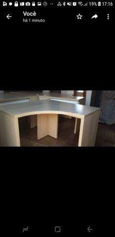 Vendo 4 mesas para escritório  - Foto 2