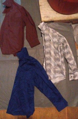 Lote de camisa de manga comprida