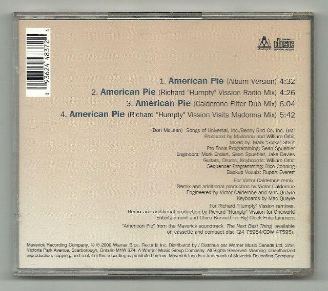 CD -Mix -  Madonna - American Pie - Foto 2