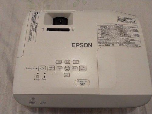 Projetor Multimídia Epson PowerLite S17 com Garantia de 6 Meses - Foto 5