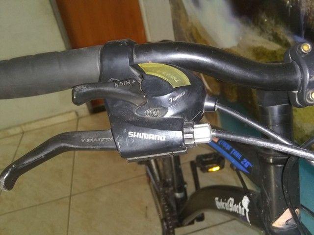 Bicicleta aro 26 freio a disco - Foto 2