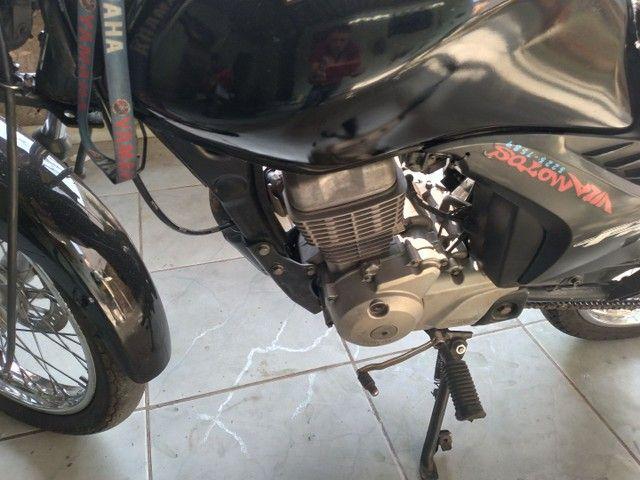 Honda fan 125 partida elétrica e freio a disco