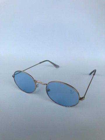 Óculos de Sol Ovalado - Foto 3