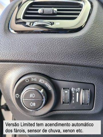 Jeep Compass 2018 Limited Branco Polar (perolizado) revisões na concessionária - Foto 12