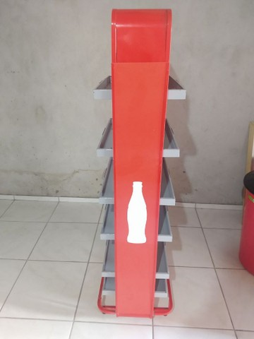 Gôndola da Coca cola semi nova - Foto 4