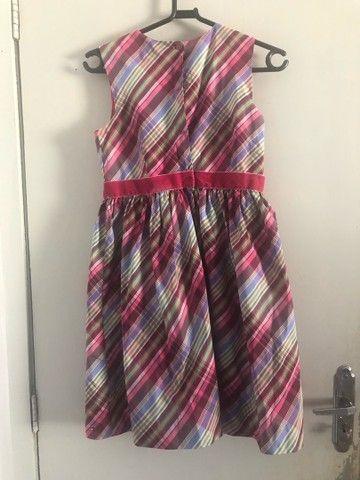 vestido infantil tommy hilfiger original 10/12 anos - Foto 4