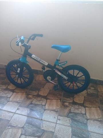 Bicicleta aro 16 em ótimo estado - Foto 3