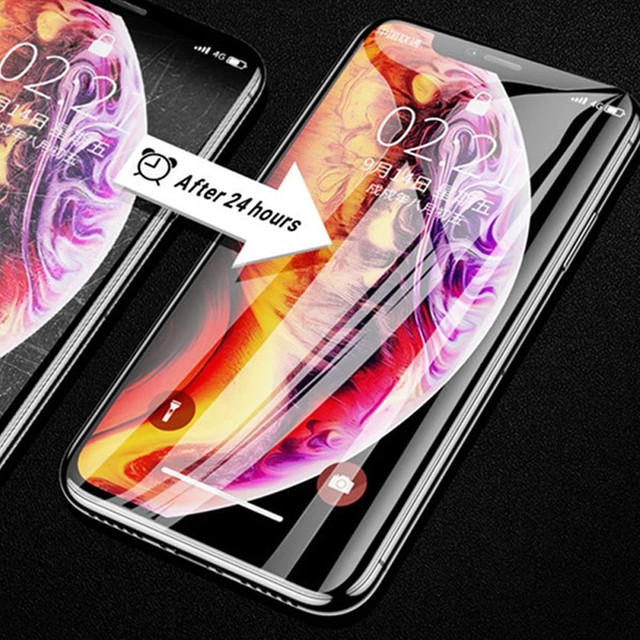 KIT Película traseira e dianteira hidrogel iPhone x - Foto 6